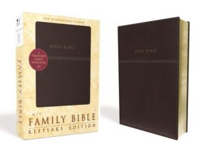 Family Bible-NIV-Keepsake