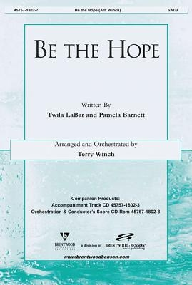 Be the Hope Orchestra Parts & Conductor's Score CDROM