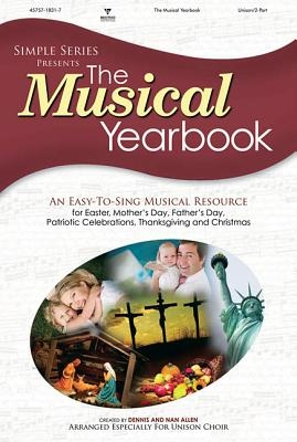 The Musical Yearbook Choral Book (2 Disk Set) (Simple Series - Adult)