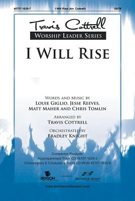 I Will Rise Orchestra Parts & Conductor's Score CDROM