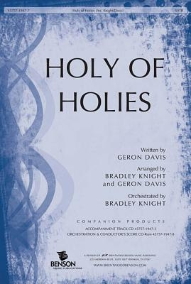 Holy of Holies Orchestra Parts & Conductor's Score CDROM