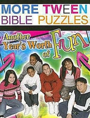 More Tween Bible Puzzles: Another Year's Worth of Fun!