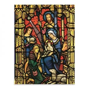 Adoration of the Lord Holiday Full Notecards