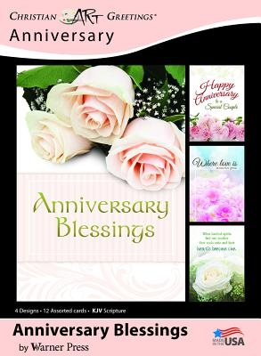 Boxed Card Anniversary Anniversary Blessings