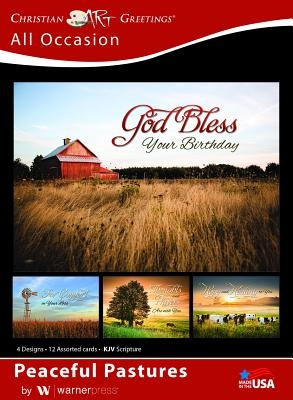 Boxed Cards All Occasion Peaceful Pastures