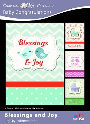 Boxed Cards Baby Congatulations Blessings and Joy