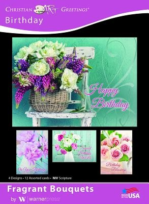 Boxed Cards Birthday Fragrant Bouquets
