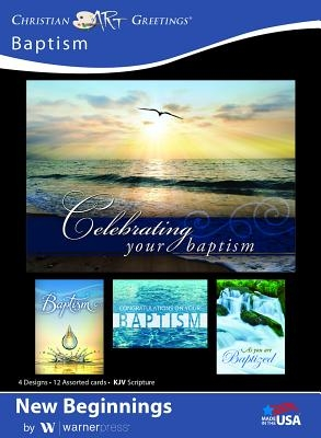 Boxed Cards Baptism New Beginnings