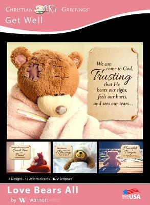 Boxed Cards Get Well Love Bears All
