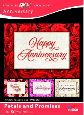 Boxed Card - Anniversary: Petals and Promises