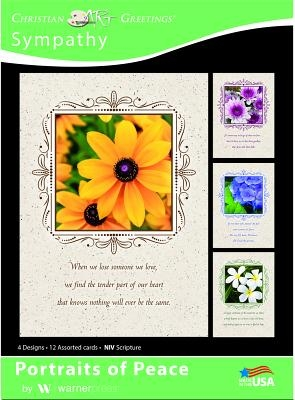 Boxed Card - Sympathy: Portriates of Peace