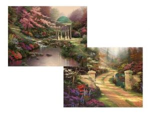 Garden Serenity Assorted Boxed Note Cards - With Scripture