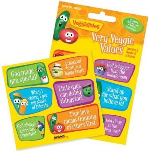 Vegt Very Veggie Values-Stck: Veggietales(r) Very Veggie Value Stickers