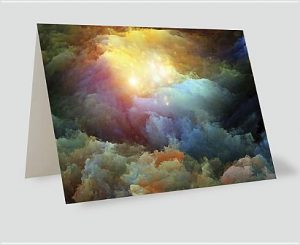 Divine Light Greeting Cards [With Envelope]