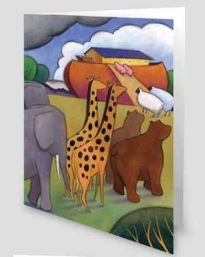 Noah's Ark Greeting Cards [With Envelope]