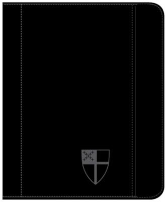 Zippered Padfolio Tablet Case Universal Fit: Stamped Episcopal Shield