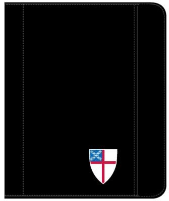 Zippered Padfolio Tablet Case Universal Fit: 3-Color Episcopal Shield