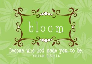 Bloom Pass It on Card