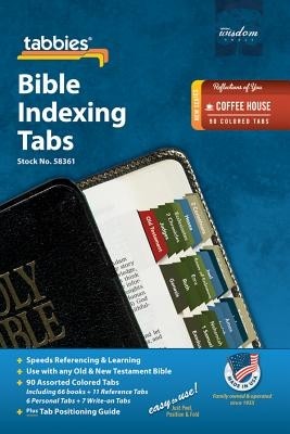 Reflections of You Bible Index: Reflections of You Coffee House Bible Tabs