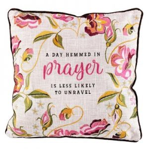 Pillows Hemmed Prayer