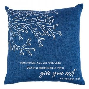Pillows Give You Rest Navy