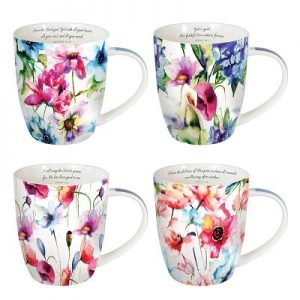 Mug Set - Seeds of Love - 4-Pa Mug Set - Seeds of Love - 4-Pa