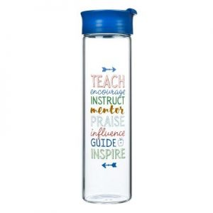 Glass Waterbottle Great Teacher