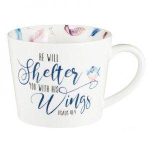 Mug He Will Shelter You