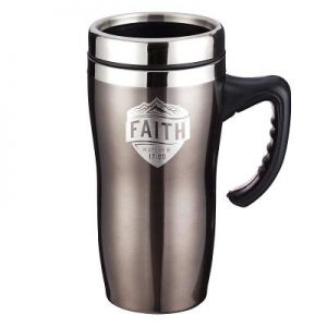 Travel Mug Stainless Steel Faith
