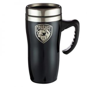 Travel Mug Stainless Steel Courage