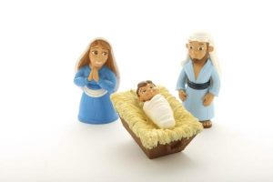 The Birth of Baby Jesus 3 Piece Playset