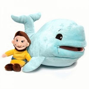 Jonah & Fish Plush Doll
