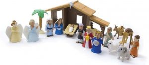 Nativity Playsets with Talking Mary Figurine [With Battery]