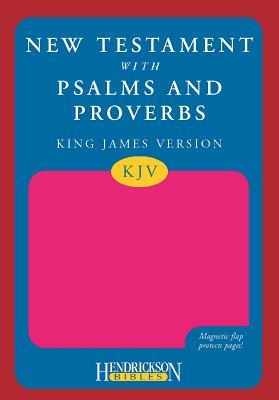 New Testament with Psalms and Proverbs-KJV-Magnetic Flap