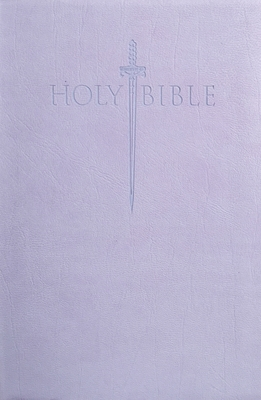 King James Version Easy Read Sword Value Thinline Bible Personal Size Lavender Ultrasoft