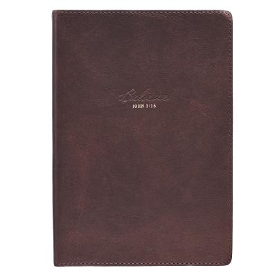 Journals Classic Full Grain Genuine Leather Believe