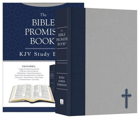 The Bible Promise Book KJV Bible--Oxford Navy