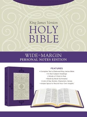 Holy Bible: Wide-Margin Personal Notes Edition [lavender Plume]