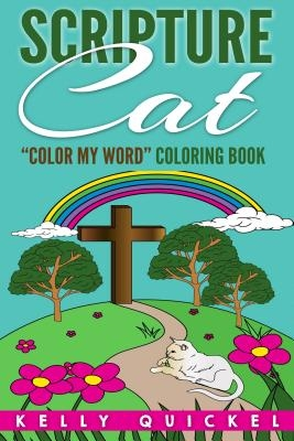 "Scripture Cat: ""Color My Word"" Coloring Book"