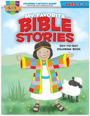 Kid/Fam Ministry Color and ACT Bks - General - Favorite Bible Stories Dot-To-Dot (2-4)