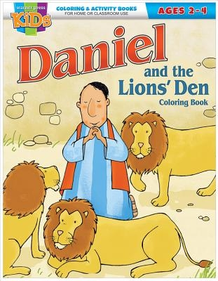 Kid/Fam Ministry Color and ACT Bks - General - Daniel & the Lions' Den (2-4)