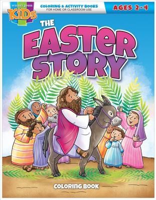 Kid/Fam Ministry Color and ACT Bks - Seasonal - The Easter Story (2-4)