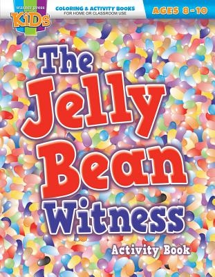 Kid/Fam Ministry Color and ACT Bks - Seasonal - The Jelly Bean Witness (8-10)