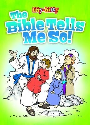 Kid/Fam Ministry Itty Bitty ACT Bk - General - The Bible Tells Me So! NIV: 6-Pack Ittybitty Activity Books
