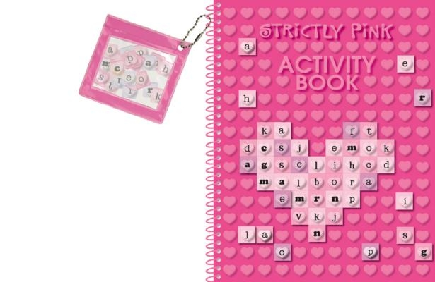 Strictly Pink Activity Book [With Plastic Letters]