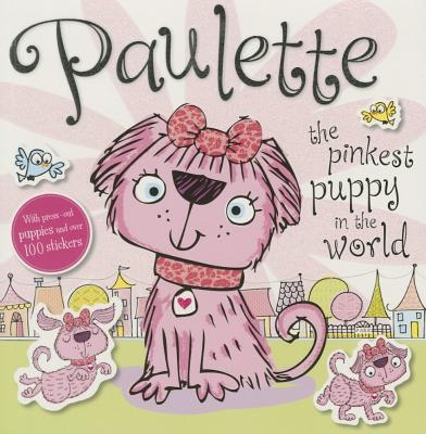 Press Out Sticker: Paulette the Pinkest Puppy in the World