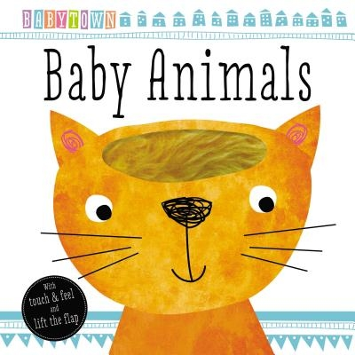 Babytown Touch and Feel Baby Animals