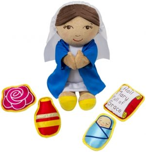 Mary, Our Mother: Plush Figure