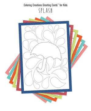 Coloring Creations Greeting Cards(tm) for Kids - Splash: With Scripture
