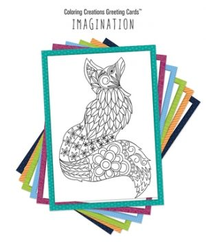Coloring Creations Greeting Cards(tm) - Imagination: With Scripture